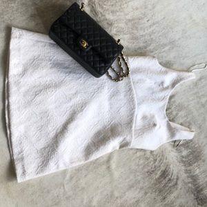 Classic Zara white dress for summer